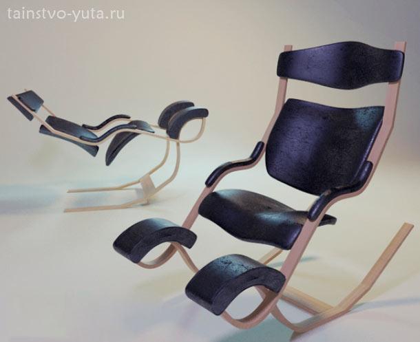 дизайнерское кресло качалка