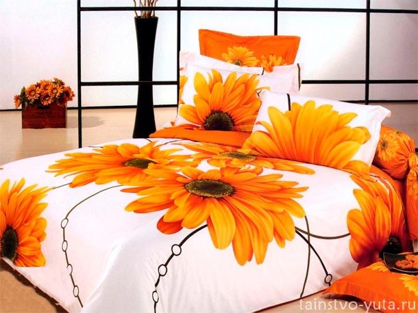 постельное белье в дизайне и декоре интерьера