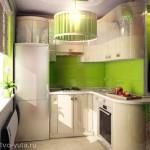 В ногу со временем - идеи дизайна для маленькой кухни