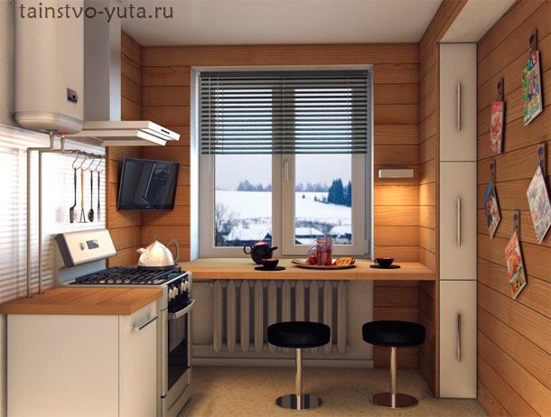 Идеи дизайна для маленькой кухни