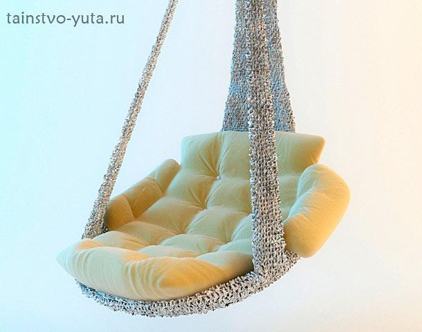 фото подвесного кресла в интерьере