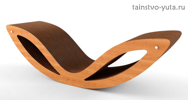 кресло качалка лежачее