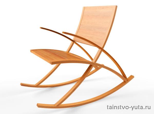 красивое кресло качалка