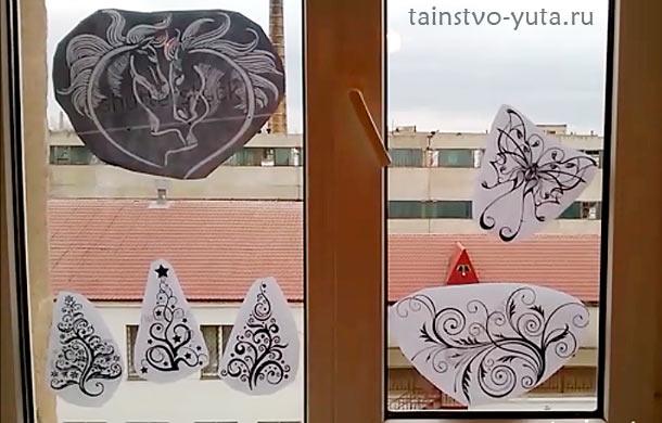 пошаговая инструкция по росписи окна