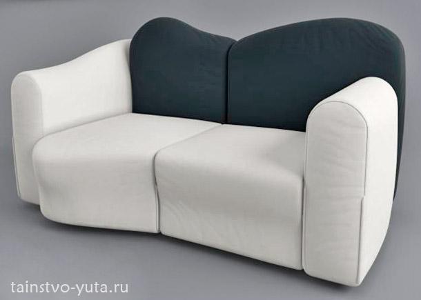 красивый мини диван