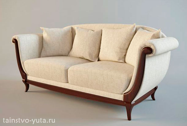 прямой диван фото