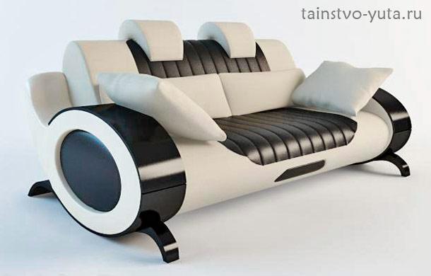 двухместный оригинальный диван
