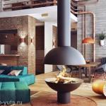 Дизайн интерьера в стиле лофт. Жизнь в бетонных джунглях.