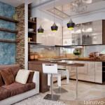 Дизайн объединенной кухни с гостиной – новые идеи организации пространства