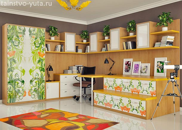 мебель для хранения в детской