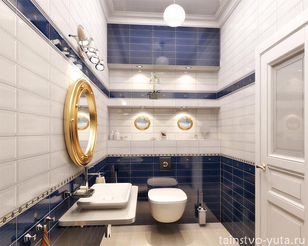 раздельный туалет дизайн