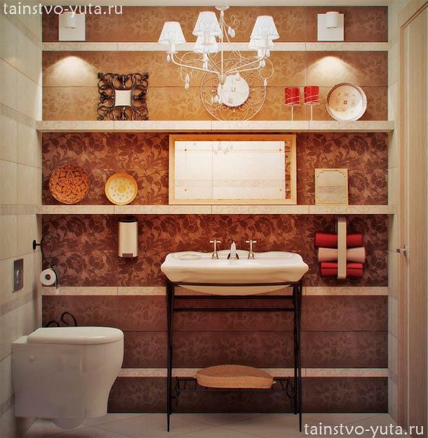 варианты дизайна туалета