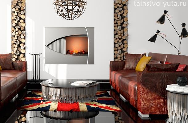 эклектика в дизайне интерьера