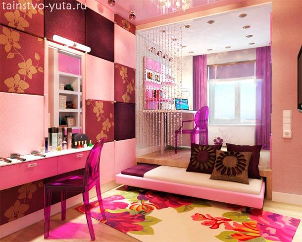 как оформить комнату подростка девочки