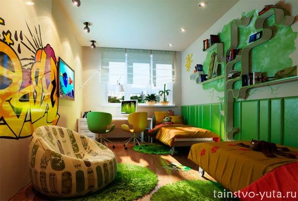 цвет для комнаты подростка