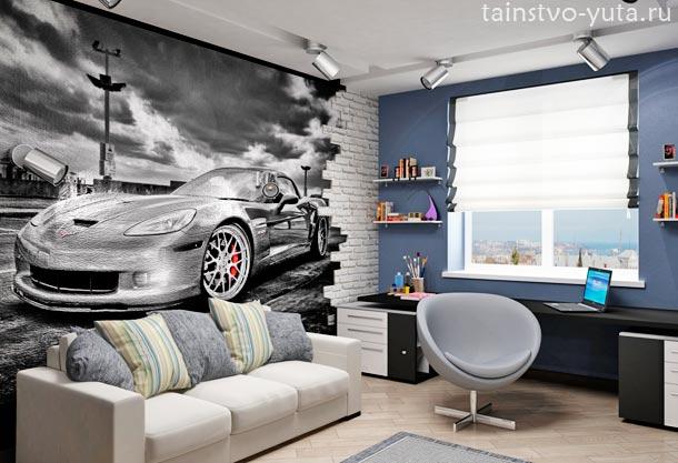 красивая комната для подростка