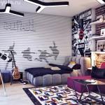 Стильная комната для подростка - ключик к взаимопониманию с детьми