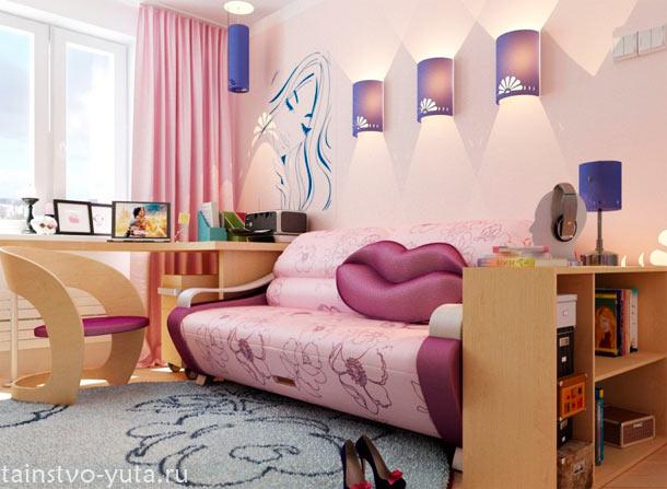 комната +для подростка девушки фото