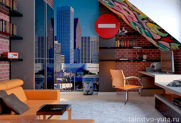 комната +для подростка дизайн фото