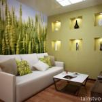 Многообразие природы в вашем доме – зеленые оттенки в интерьере
