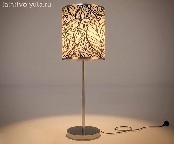 интерьерная настольная лампа