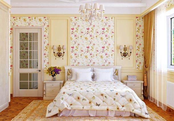 цветочный орнамент прованс
