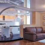 Жизнь на высоте или дизайн комнаты с подиумом