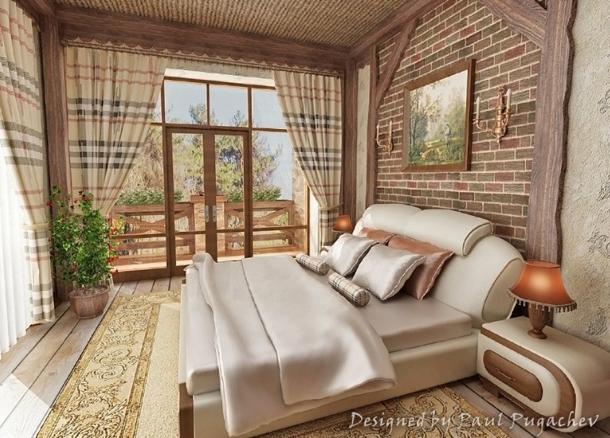 бежевая спальня дизайны фото
