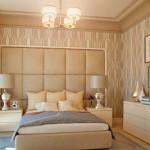 Интерьер комнаты в бежевых тонах: мягкие объятья дома