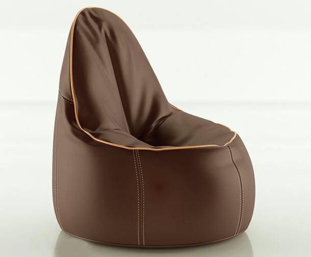 безкаркасное кресло