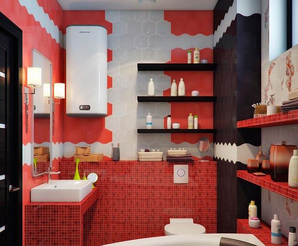 шестиугольная плитка дизайн ванной