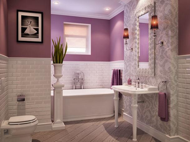 плитка мозаика в дизайне ванной