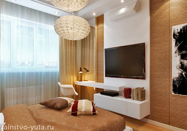 идеи для расположения мебели в спальне