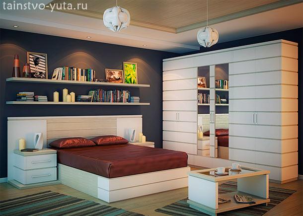 мебель в дизайне спальни