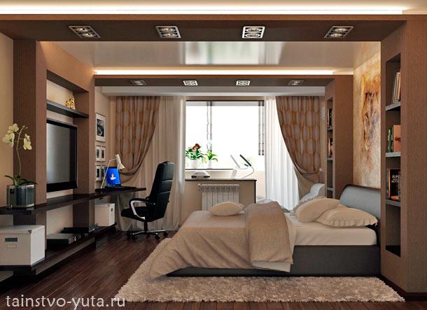 дизайн современной спальни фото