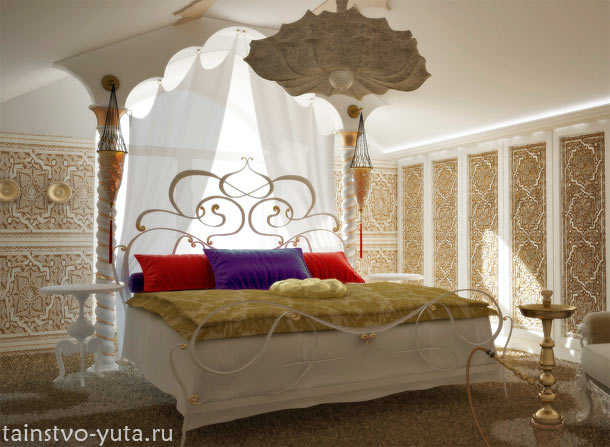 спальня в этно стиле