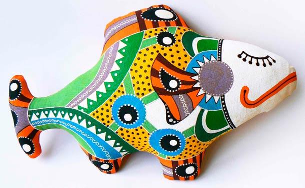 декоративная подушка пример
