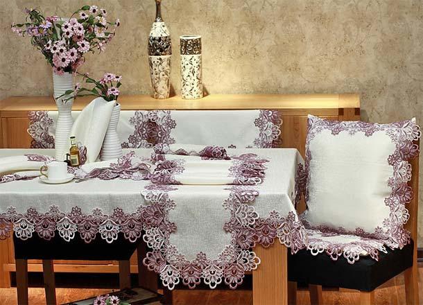 текстиль в дизайне кухни