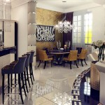 Изысканный дизайн интерьера в стиле арт деко