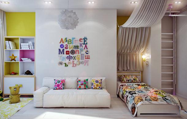 как оформить детскую комнату идеи