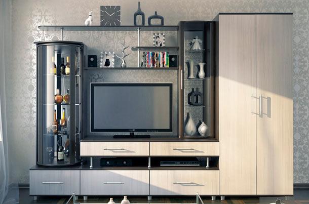 стенка под телевизор дизайн