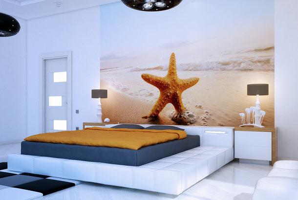 как декорировать изголовье кровати