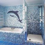 Плитка и мозаика: оригинальное декорирование стен и отдельных зон