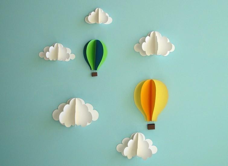Аппликации на стену своими руками для детской
