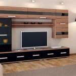 Имея модульный набор мебели – переставляйте ее хотя бы раз в год
