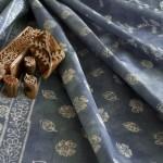 Оригинальное декорирование текстиля и использование набойки в современном интерьере