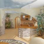 Декоративный камень: преимущества в отделке при стилизации интерьеров
