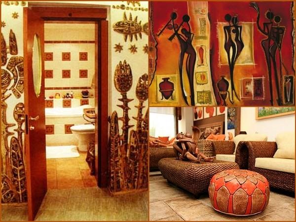 Интерьер в африканском стиле
