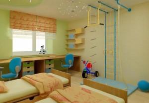 Спортивный-уголок-в-детской-комнате-2-500x345
